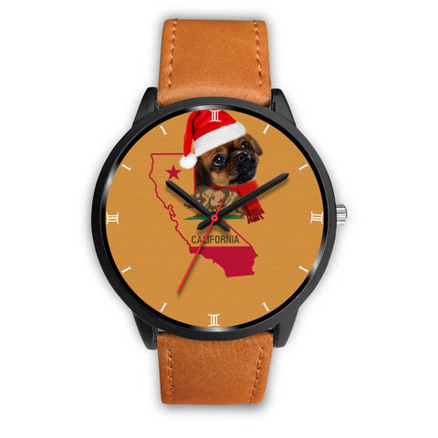 Tibetan Spaniel California Christmas Special Wrist Watch-Free Shipping