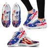Australian Expats in USA - Sneakers for Women-Free Shipping-Paww-Printz-Merchandise