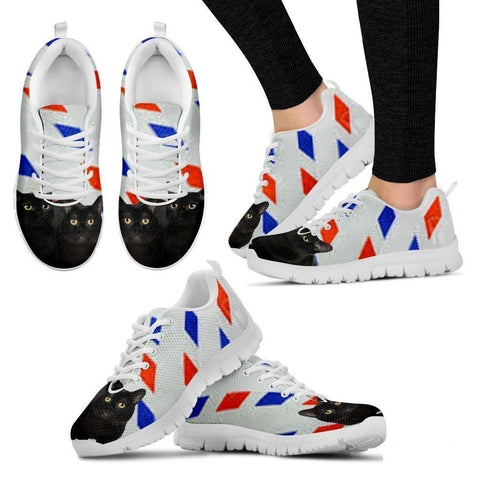 Bombay Cat Print Running Shoes For Women-Free Shipping-Paww-Printz-Merchandise