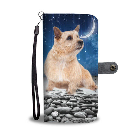 Norwich Terrier Print Wallet Case-Free Shipping