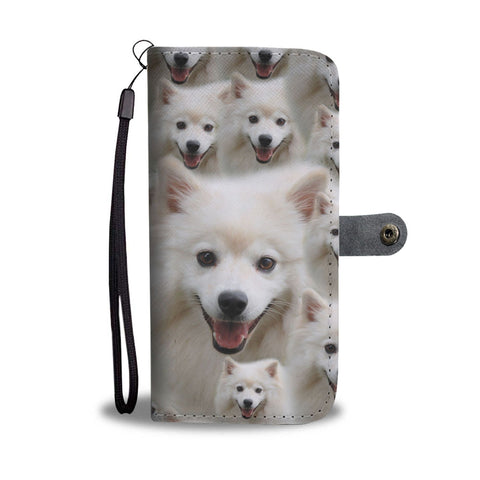 American Eskimo Dog Print Wallet Case-Free Shipping