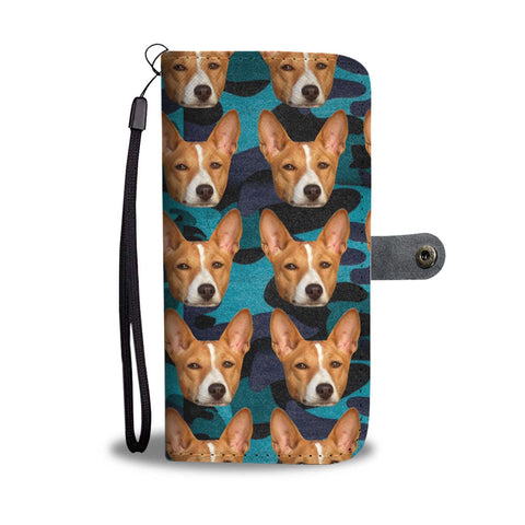 Basenji Dog Print Wallet Case-Free Shipping