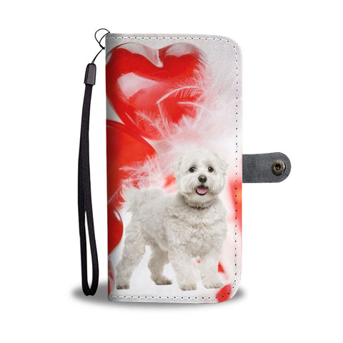Maltese Dog Wallet Case- Free Shipping