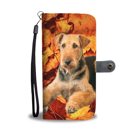Airedale Terrier Wallet Case- Free Shipping