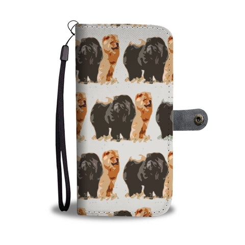 Chow Chow Dog Patterns Print Wallet Case-Free Shipping