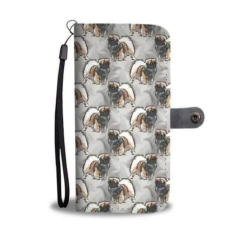 Tibetan Spaniel Dog Patterns Wallet Case-Free Shipping