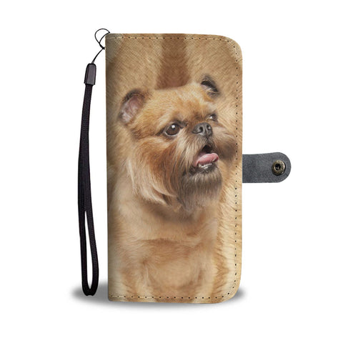 Brussels Griffon Dog Print Wallet Case-Free Shipping