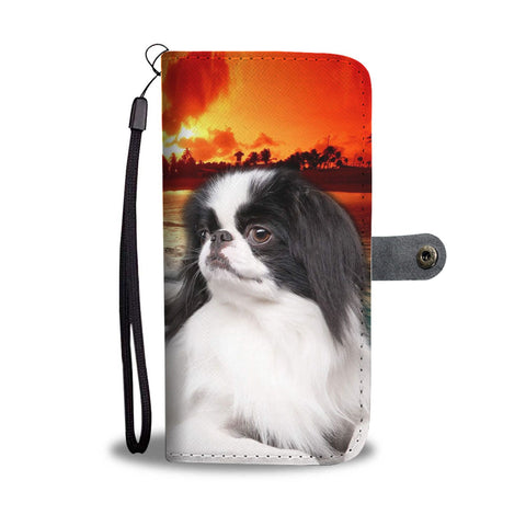 Cute Japanese Chin Wallet Case- Free Shipping