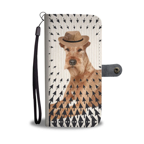 Amazing Irish Terrier Print Wallet Case-Free Shipping