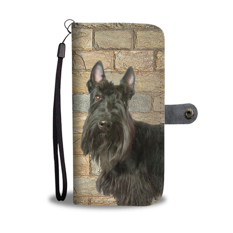 Scottish Terrier Print Wallet Case- Free Shipping