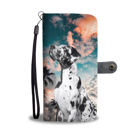 Great Dane Print Wallet Case- Free Shipping