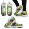 African Grey Parrot Print Running Shoes For Women-Free Shipping-Paww-Printz-Merchandise