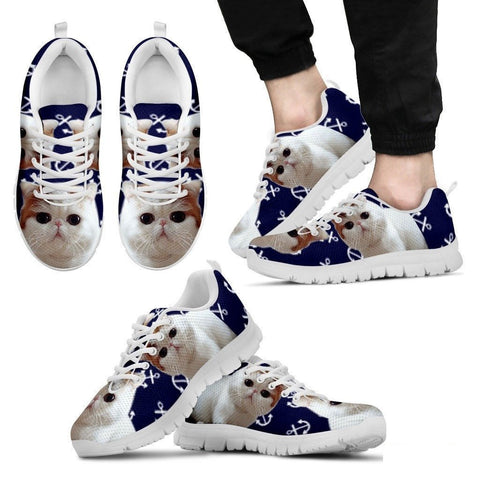 Exotic Shorthair Cat Running Shoes For Men-Free Shipping-Paww-Printz-Merchandise