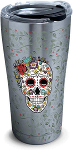 Tervis Fiesta-Skull and Flowers Stainless Steel Insulated Tumbler