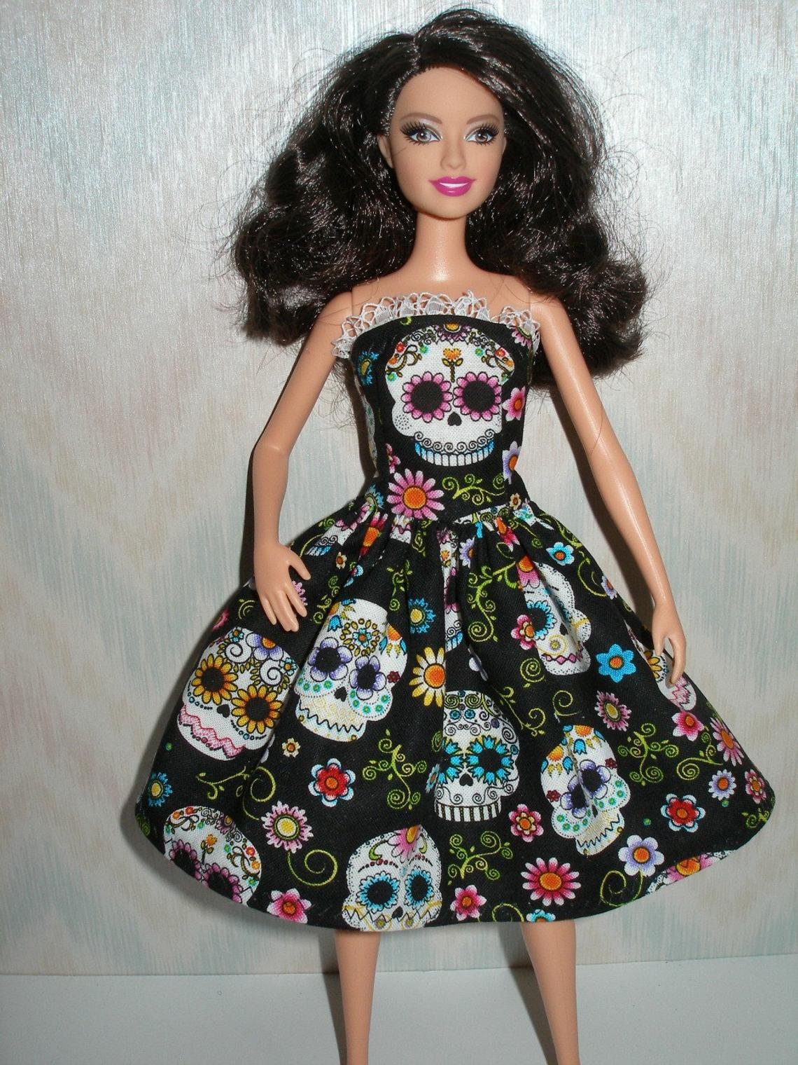"Handmade to fit 11.5"" fashion Barbie doll clothes and Curvy Barbie"