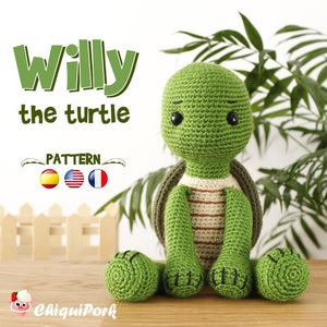 Crochet Turtle PATTERN Amigurumi pattern