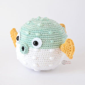 CROCHET PATTERN - CARRIE the Blowfish Amigurumi