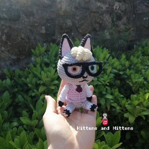 Raymond - Animal Crossing Crochet Pattern