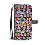 Sugar skull wallet phone case. All models