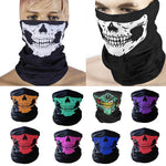 1pcs Outdoor Face Mask Skull Pattern Headband Magic Scarf