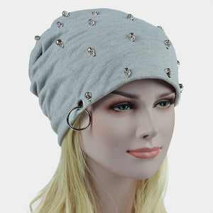 2018 Skullies Caps Slouchy Beanie Cap Cotton Knitted Unisex Hats