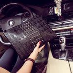 Handbag Skull Printed Casual Clutch Envelope Shoulder  Bag