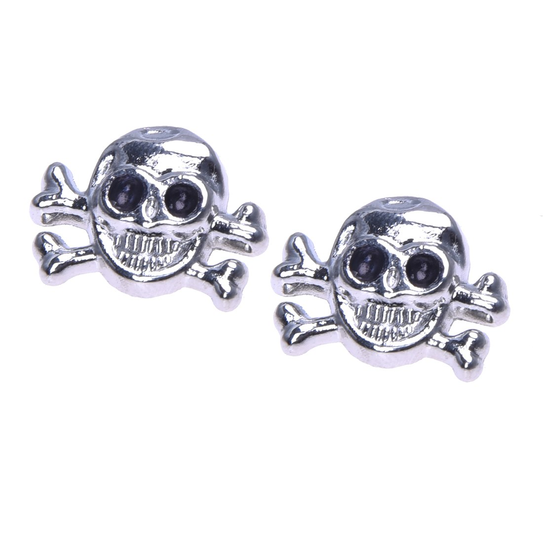 20X Sconces Rivets Skull Metal 14 * 18mm Tacks Bag / Shoes / Gloves