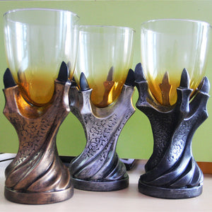 3D Dragon Goblet Cup Claw Glass Goblets Skull Dragon Paw Whiskey Beer Cups Drinking Bottle Party&Bar Decor Mug Cosplay Props