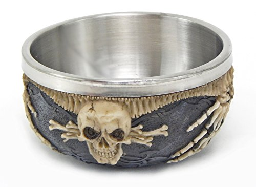Cool Realistic Skull Ossuary Offering Bowl Box Jewelry Stash Ash Tray Candy Rituals