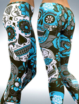 Women Leggings Sugar Skull