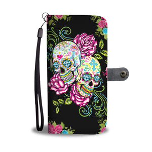 Sugar Skull day of the dead wallet