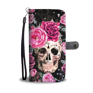 Awesome skull wallet sugar skull wallet