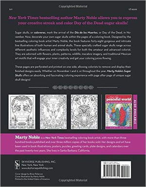 Sugar Skulls: New York Times Bestselling Artists' Adult Coloring Books