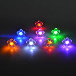6 Colors  ! New Design Personality  Lovely Flower LED Luminous Earrings  Women Jewelry  Glow In The Dark Earrings