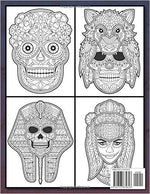 Sugar Skull Coloring Book: A Day of the Dead Coloring Book with Fun Skull Designs