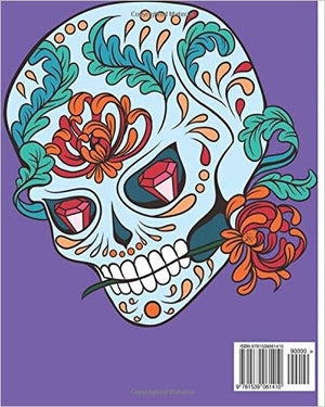 Gothic Coloring Books For Adults: Day of the Dead Coloring Book (Coloring Books for Adults)