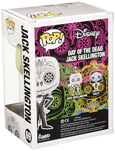 Funko POP Disney Day of The Dead Jack Skellington Action Figure