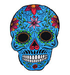Unique Design Funny Oversized Large Cartoon Sugar Skull Beach Towel Blanket Throw Yoga Mat Sunscreen Shawl Soft Lightweight Absorbent Perfect for Beach, Pool, Lake, Outdoor