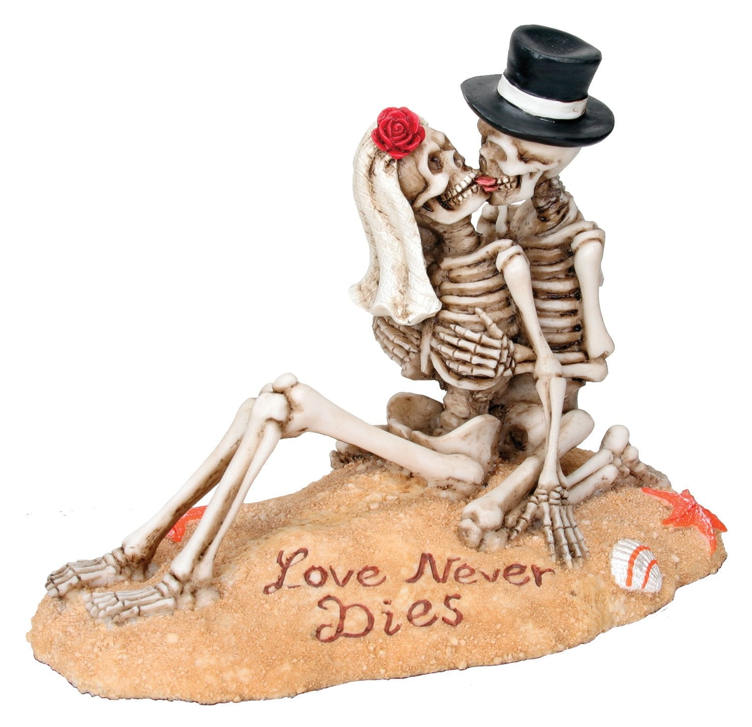 Beach Lovers - Collectible Figurine Statue Sculpture Figure Skeleton