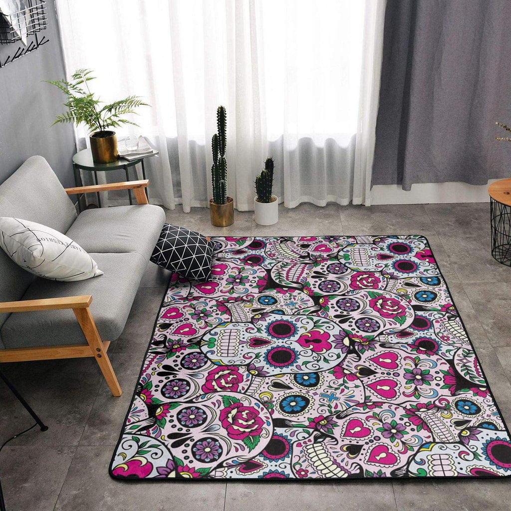 Sugar skull rugs - with 3 sizes