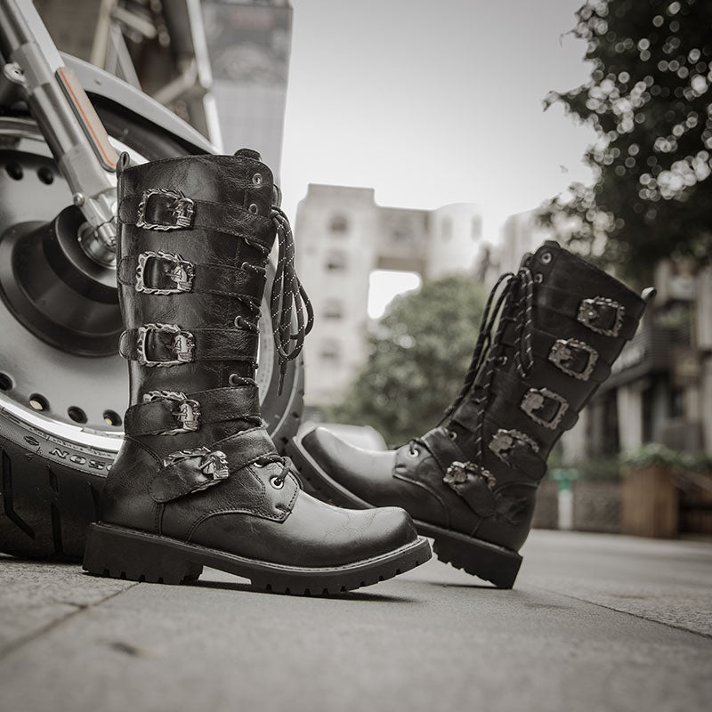 Ankle Joint Protective Gear Motorcycle Boots Moto Shoes Riding Motorbike Biker Moto Riding Boots Motorcycle Shoes