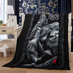Beauty Skull Thick Blanket Soft Fleece Throw Blankets For Beds Adults Bedding Cover Bedspread 150*200cm Sofa Decor