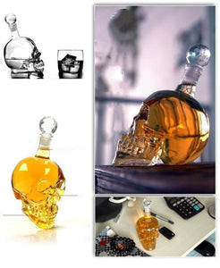 Crystal Head Vodka Bottle Skull Head Bottles Creative Gothic Wine Cup