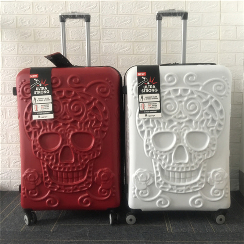 Awesome Sugar Skulls luggage