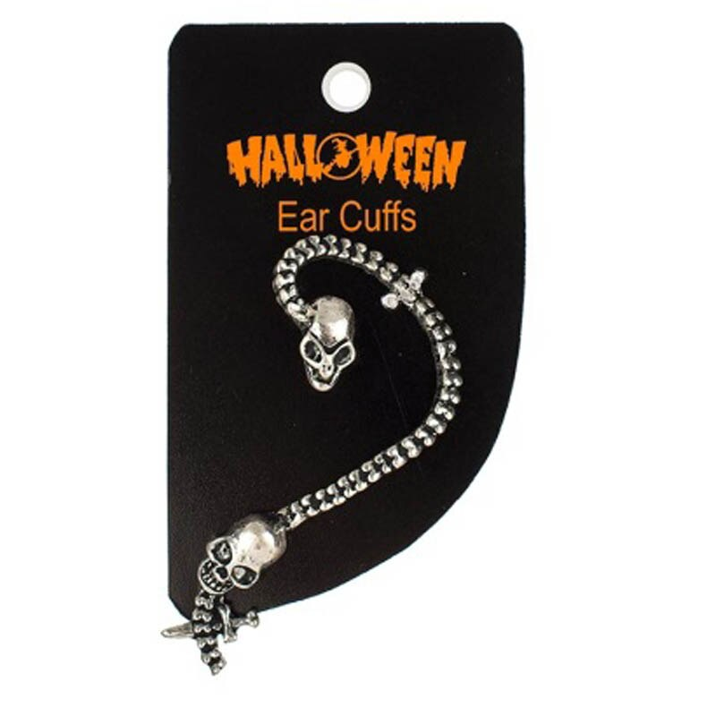 Halloweeen Scary Spooky Fun Skull Snake Dragon Cuffs