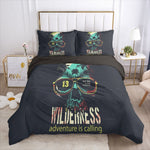 sugar skull Bedding Set 3D skull Duvet Cover Set Comforter
