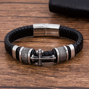 Fashion Charm Stainless Steel Magnetic Black