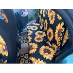 Day of the Dead Sugar Skull Design Easy Clean Car Interior Protector Car Seat Covers