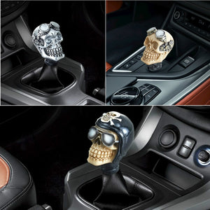 Car Gear Shift Knobs Skull Head Gear Manual Transmission Gear