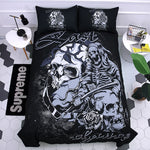 Sugar Skull 3D Printing Bedding Set Duvet Covers Set Pillowcases